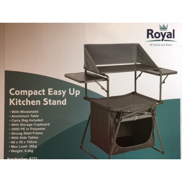 Royal Compact Easy Up Kitchen Stand