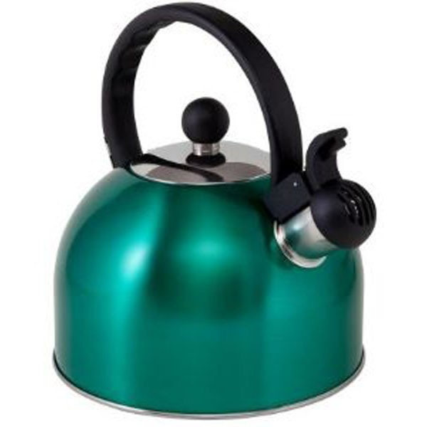 Boil-It Whistling Kettle 2L (Turquoise)