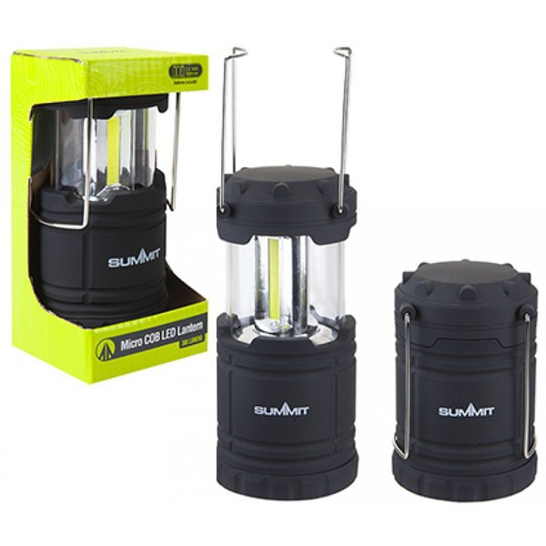 Summit Micro COB LED Collapsible Lantern