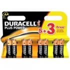 Duracell Plus AA (5 plus 3)