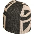 Union Jack Ski Hat (Black/Beige)