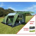 SunnCamp Silhouette 400 Tent with Footprint Groundsheet