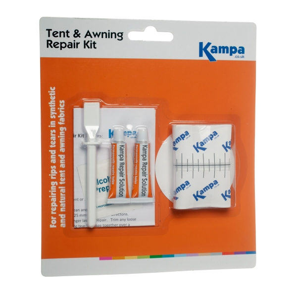 Kampa Tent Amp Awning Repair Kit Fixes Rips Amp Tears In Minutes