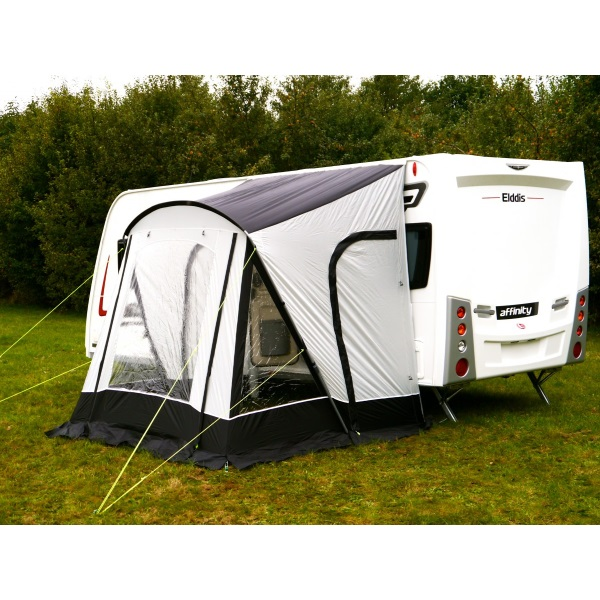 Sunncamp Swift 220 Deluxe Awning Black Grey