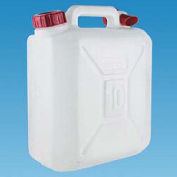 Camping Water Container >> 10 Litre Jerry Can With Pouring Spout Perfect For Camping And