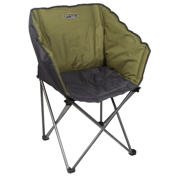 Quest Elite Kent Wrap Around Chair Green Padded
