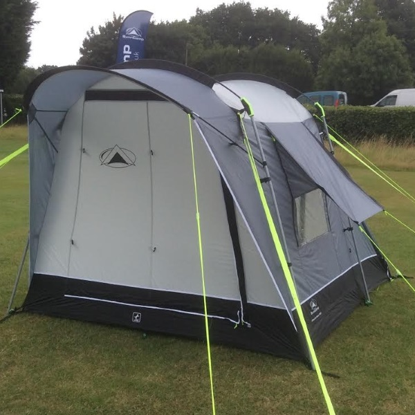 SunnCamp Silhouette 225 Motor Plus Driveaway Awning 2018 Model