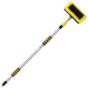 Wash Brush With Telescopic Handle